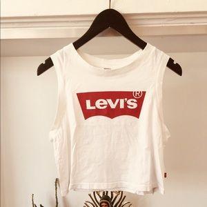 Levi's classic batwing tank